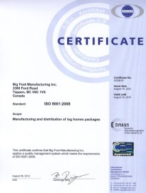 BigFoot-ICM-2011-QMS-Certificate